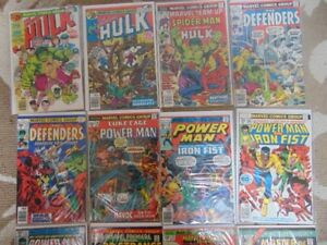 comic books - Hulk/ Luke Cage/ Conan/Kull/Marvel Team Up