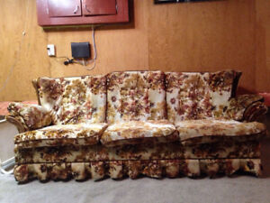 Older couch but extremely comfortable