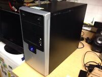 Desktop PC - win 10, 8gb Ram, 640gb hdd and 2gb graphics card.