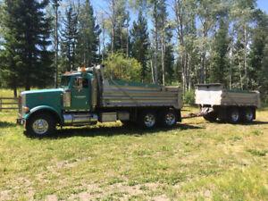 1995 Peter built Dump Truck