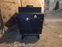"""Air tight wood stove """"Heritage"""" only used for 2 years."""