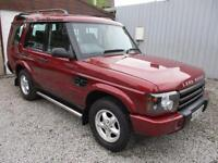 2000 Land Rover Discovery 4.0 V8i GS 7 seat 5dr Auto ## GAS CONVERSION ## LPG...