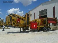 -Best Mobile Crushing plant , Mobile Screener plant.