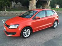 2010 10 VW VOLKSWAGEN POLO 1.6 TDI SE TURBO DIESEL SE 5 DOOR HATCH MANUAL