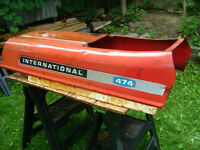 International 474 Tractor Hood - Hot Rod / Rat Rod Parts