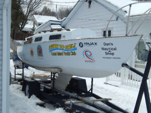 Shark 24 with trailer