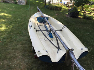 Mistral 4.7 with trailer. All in excellent condition