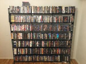 DVD / Blu Ray shelf / shelves - Boltz Steel Furniture