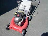 """LAWN MOWER WITH R BAG 21"""""""