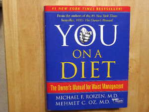 "FS: ""You On A Diet"" 1st. Edition Hardcover Book (by Roizen M.D./"