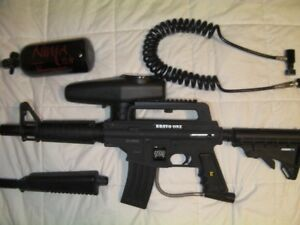 Tippmann Bravo One with e-grip and 48/3000 air tank