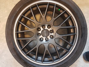 Tenzo R Mesh type m wheels with tires plus spare rim $1000obo