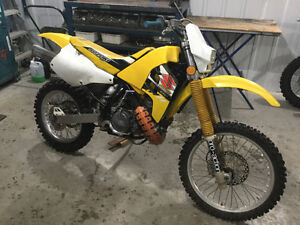 1996 Suzuki RM 250 X in good condition $1500.00 firm
