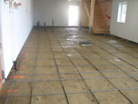 CONCRETE FINISHING AND SERVICES