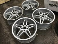 "19"" Breyton alloy wheels Alloys Rims tyre tyres 5x120 BMW Vw Volkswagen transporter t5/t6"