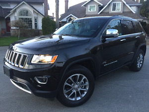 2016 Jeep Grand Cherokee limited 4X4 ONLY 5000 KM'S!!!!!!