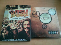RUSH spectacle et documentaire en BLU-RAY