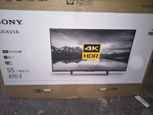 "55""Sony bravia 4k UHD Smart TV, great condition"