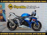 2012 12 SUZUKI GSXR1000 1000CC 0% DEPOSIT FINANCE AVAILABLE