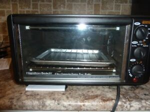 Hamilton Beach Convection Toaster Oven Broiler