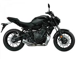 YAMAHA MT-07 2021 MODEL, 21 REG 0 MILES, 700cc NAKED TWIN CALL FOR BEST UK PR...