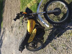 Yamaha 100cc bike - great starter