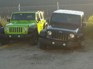 2011 Jeep Wrangler Unlimited Rubicon- Whole or Parts
