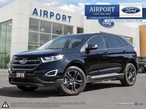 2018 Ford EDGE SEL AWD with only 8,856 kms