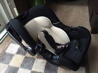 Ziba baby car seat (black)