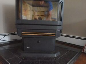 Envro wood pellett stove