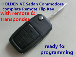 HOLDEN Commodore VE  Sedan  Omega Berlina Calais  complete Remote Flip Key