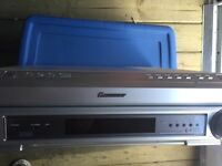 Pioneer DVD player and surround sound system