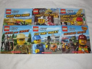 LEGO CITY - CHILDRENS BOOKS - NICE SELCTION - CHECK IT OUT!