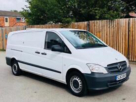 2013/63 MERCEDES BENZ VITO 116 CDI AUTOMATIC 7G EXTRA LONG WHEEL BASE-TAILGATE!!