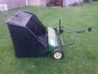John Deere  Lawn Sweeper Attachment