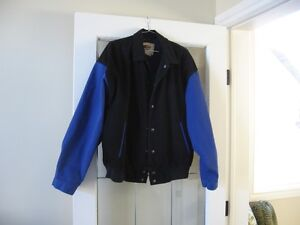 Men's lined jean jacket - NEW - size M