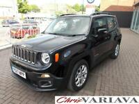 2017 Jeep Renegade 1.6 Multijet Longitude 5dr DDCT Diesel black Automatic