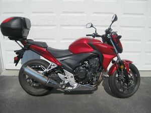 2013 Honda CB500 F with ABS