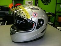Silver Modular helmets - NEW at RE-GEAR
