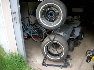 2 Tires with 2 Rims