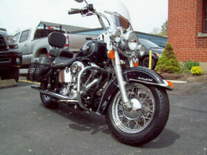 The Iconic  Harley Davidson Heritage Softail Classic 2012