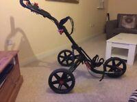 Clicgear 3.5 3 wheel golf trolley