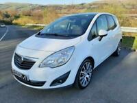 2011 Vauxhall Meriva EXCLUSIV LIMITED EDITION 5 Door Hatchback Petrol Manual