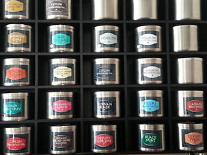 STAINLESS STEEL TEA CANISTERS WITH SCOOP