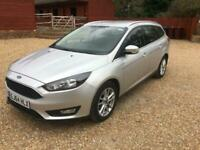 2014 FORD FOCUS ZETEC AUTOMATIC ESTATE VERY LOW MILES ONLY 15K WITH F/S/H
