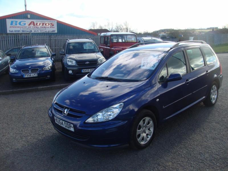 54 peugeot 307 1 6 s estate metallic blue in peterlee county durham gumtree. Black Bedroom Furniture Sets. Home Design Ideas