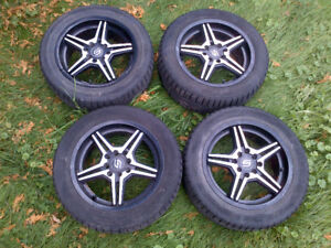 Small Car winter wheels set