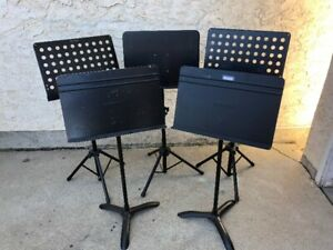 Heavy duty music stands