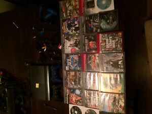 465gb PS3 18 games and 2 controllers  300$ obo