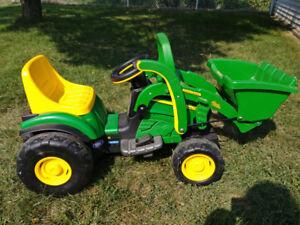 Tracteur john deere de peg-perego.